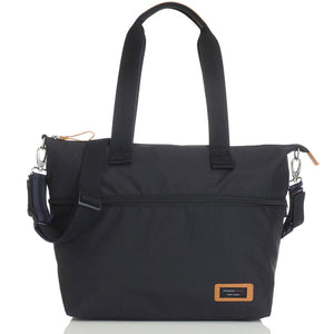 Storksak Travel Expandable tote Black hospital bag | Maternity hospital bag | Storksak - Award-winning Baby Nappy Bags & Accessories