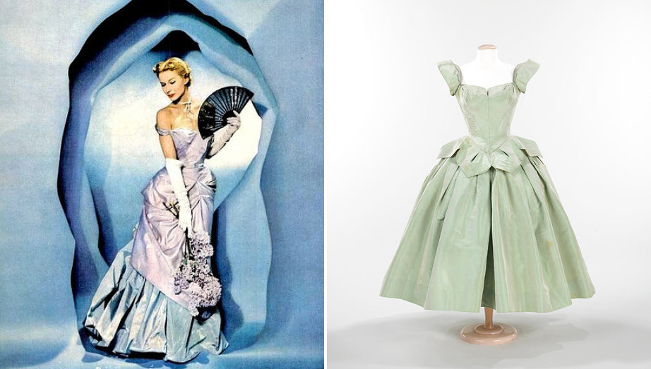 Charles James & Orchids | shrimptoncouture.com
