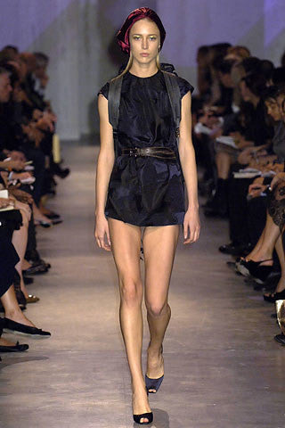 Spring/Summer 2007 Prada Silk Satin Runway Top
