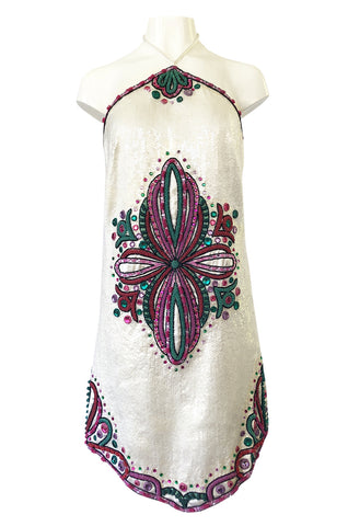991081c2223 Spring 2007 Emilio Pucci by Matthew Williamson Sequin Runway Dress