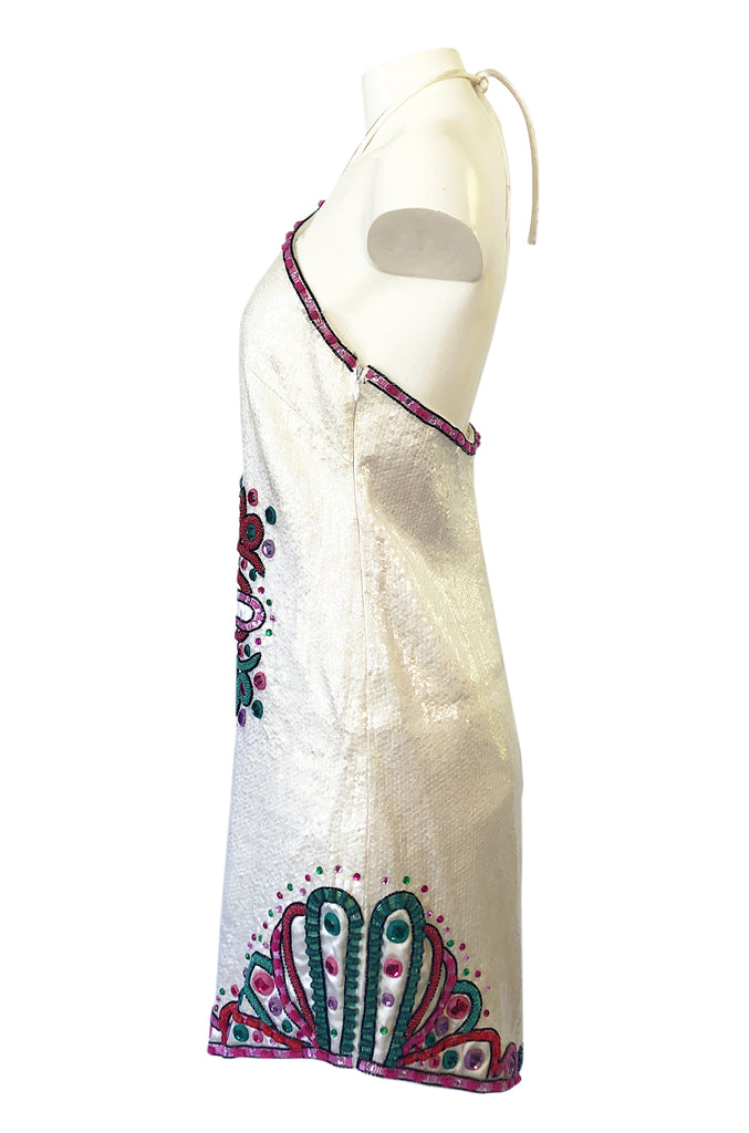 Spring 2007 Emilio Pucci by Matthew Williamson Sequin Runway Dress