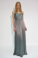 Pre-Fall 2008 Stella McCartney Silk Chiffon One Shoulder Dress