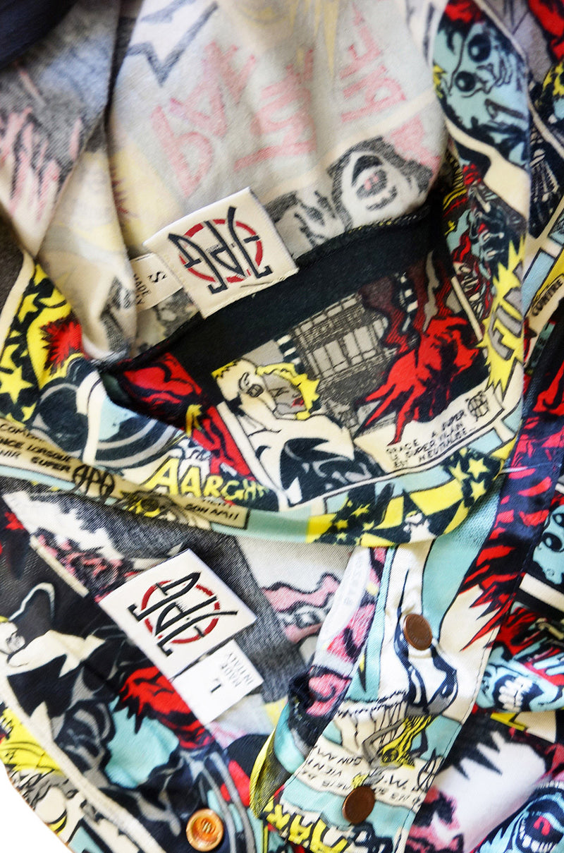 1990s JPG Cartoon Mini Skirt & Top