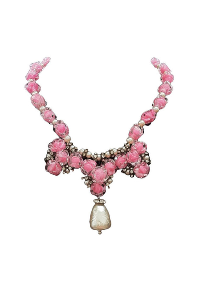 Fine Glass LOUIS ROUSSELET Necklace ca.1950