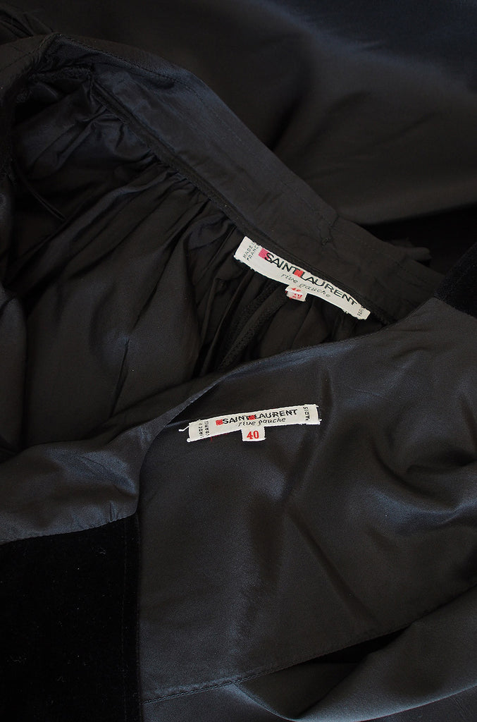 1978 Important Silk Taffeta Yves Saint Laurent Set