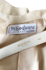 Important 2001 Yves Saint Laurent Haute Couture 'Just Married' Documented Runway Suit