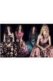 Iconic Resort 2008 Prada Runway & Ad Campaign Silk Floral Couture Dress
