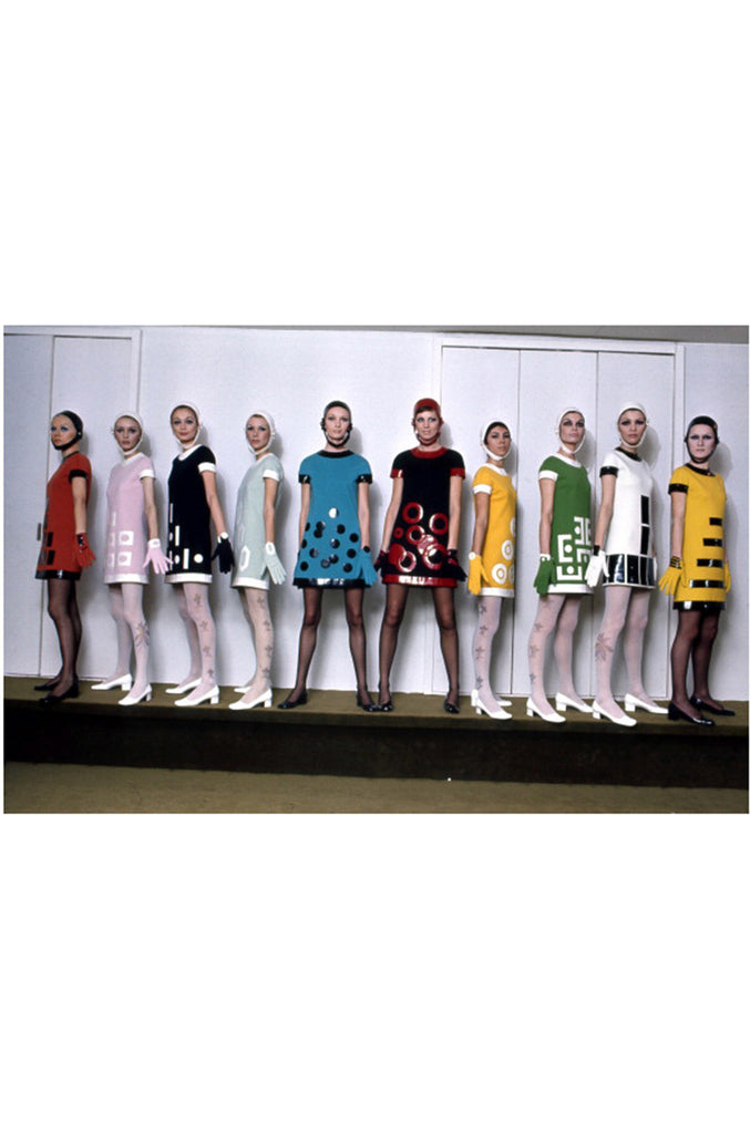 1969 Documented Pierre Cardin Runway & Ad Campaign Dress