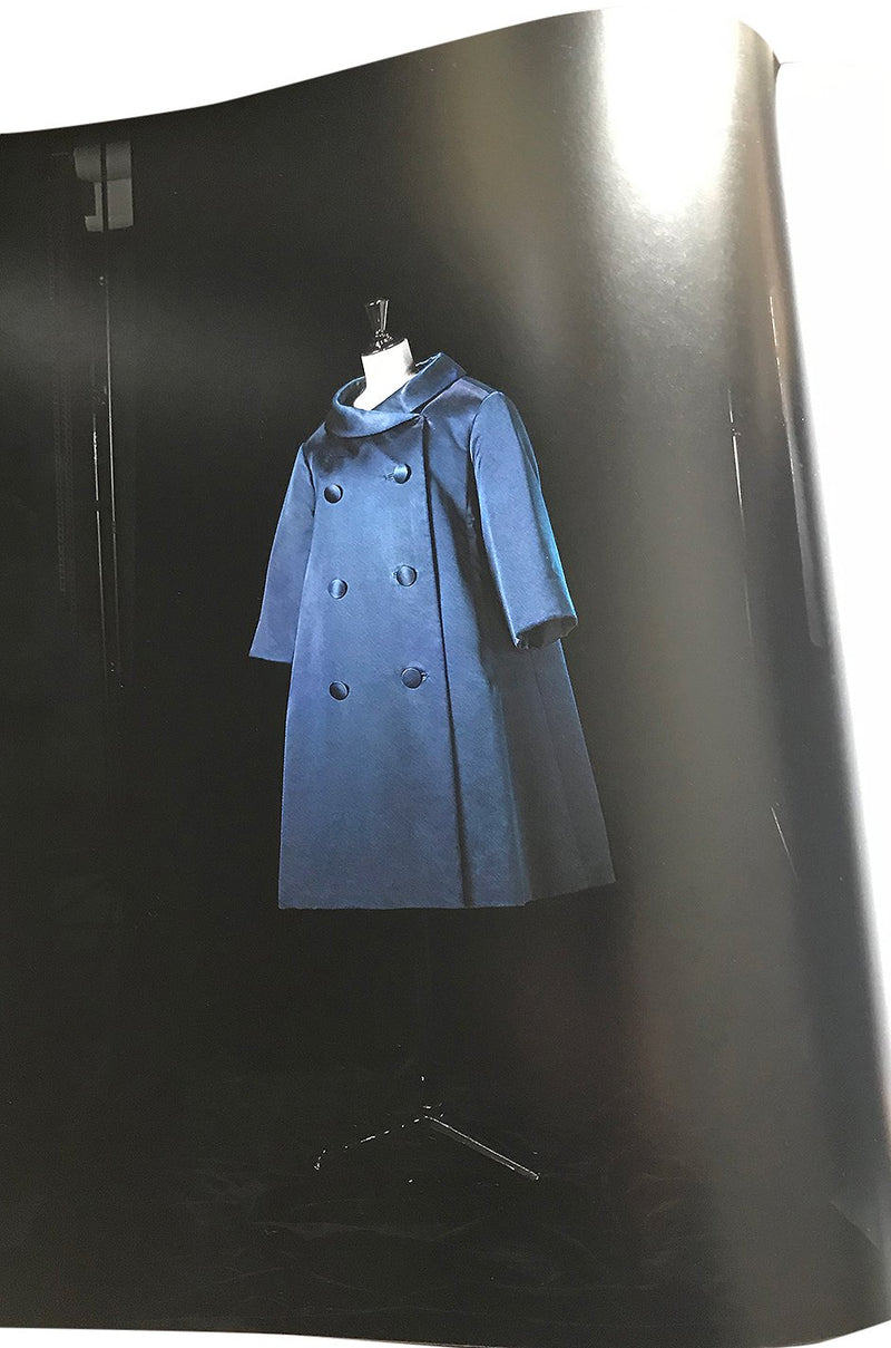 Rare Fall 1958 Christian Dior by Yves Saint Laurent Haute Couture Silk Coat