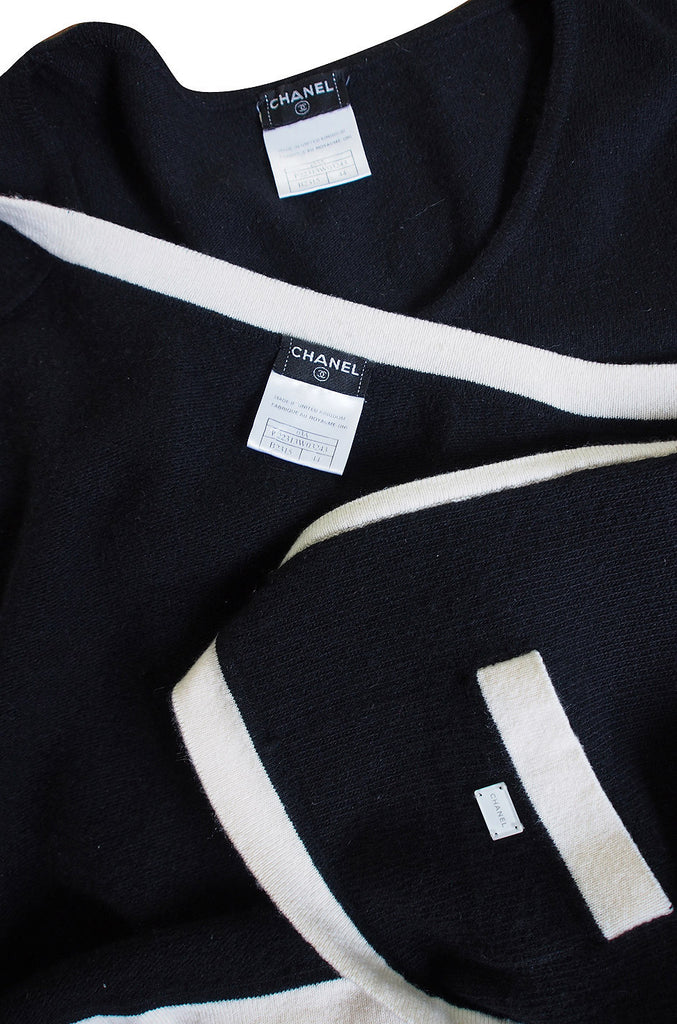 1980s Classic Chanel Cashmere Twinset