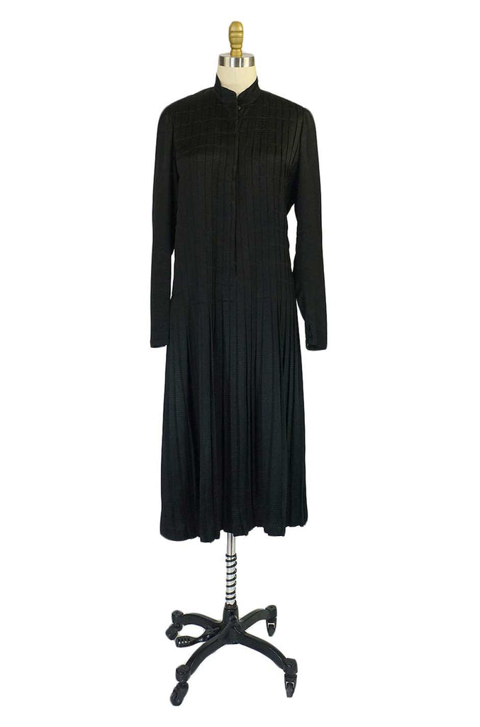 1920s Chanel Attributed Silk Dress