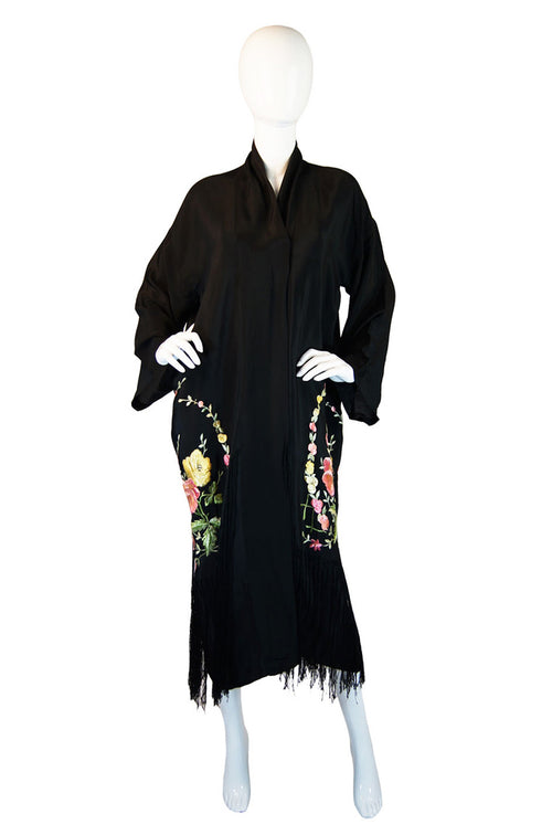 1920s Fringe & Embroidery Flapper Robe