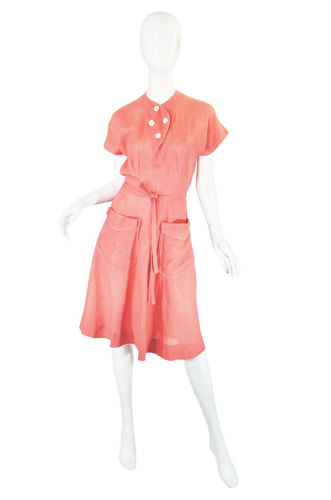 1940s Junior Guild  Original Swing Dress
