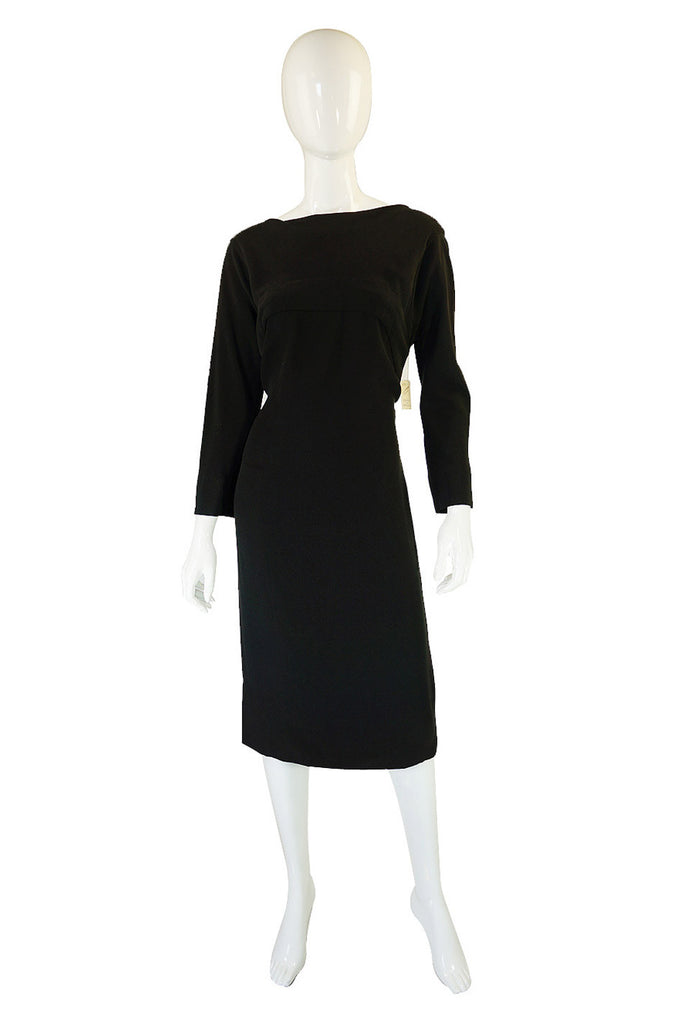 1950s Dead-Stock Irene Low Back Dress