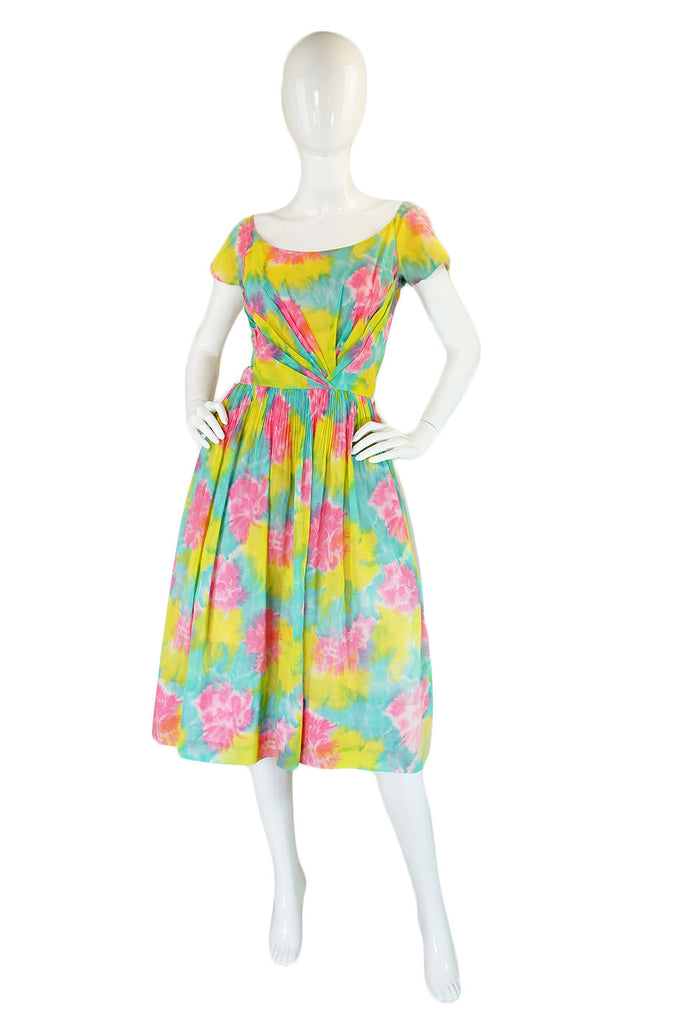 1950s Multi-Colour Cotton Ceil Chapman