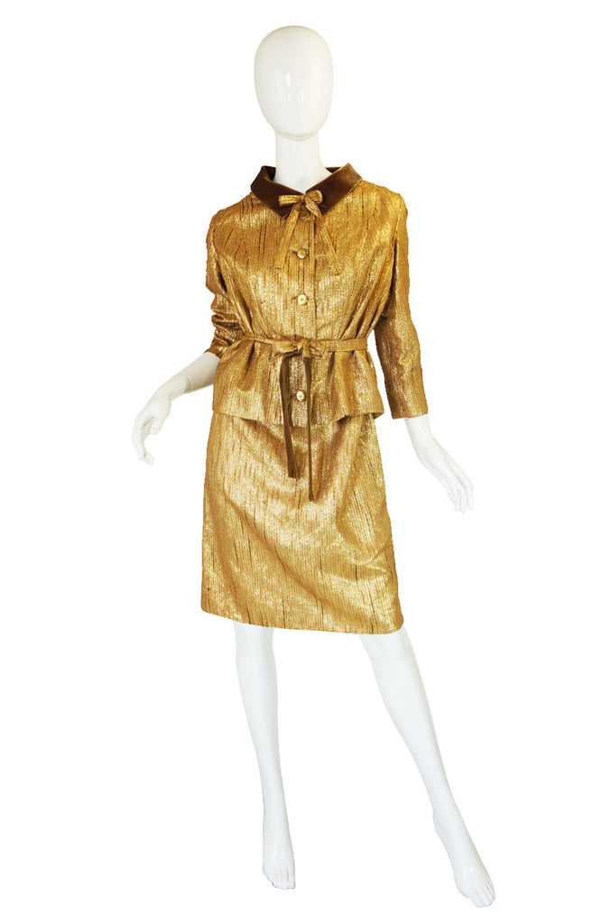 1950s Numbered Jean Desses Dress Set