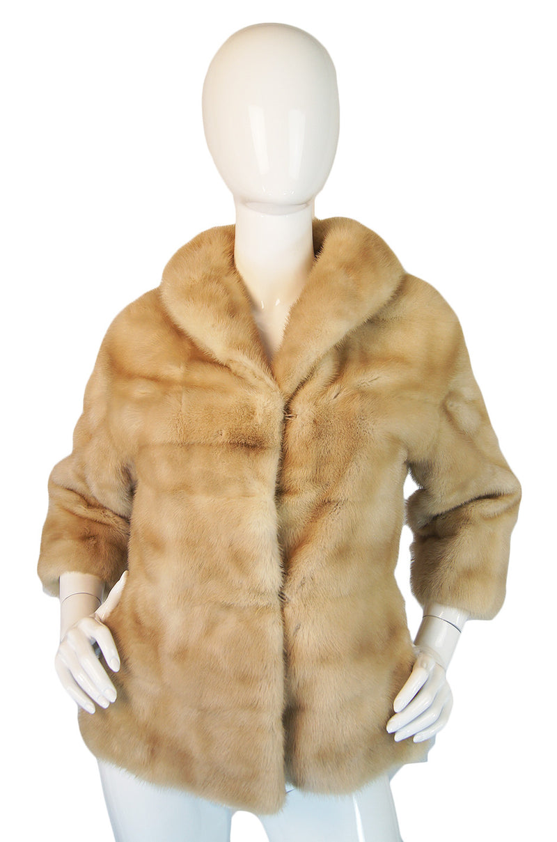 1950s EMBA Pearl Mink Evening Jacket