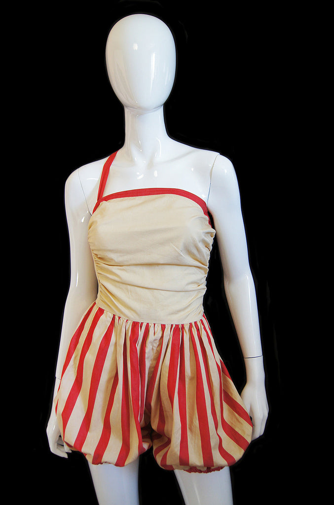 1940s Claire McCardell Att. Playsuit