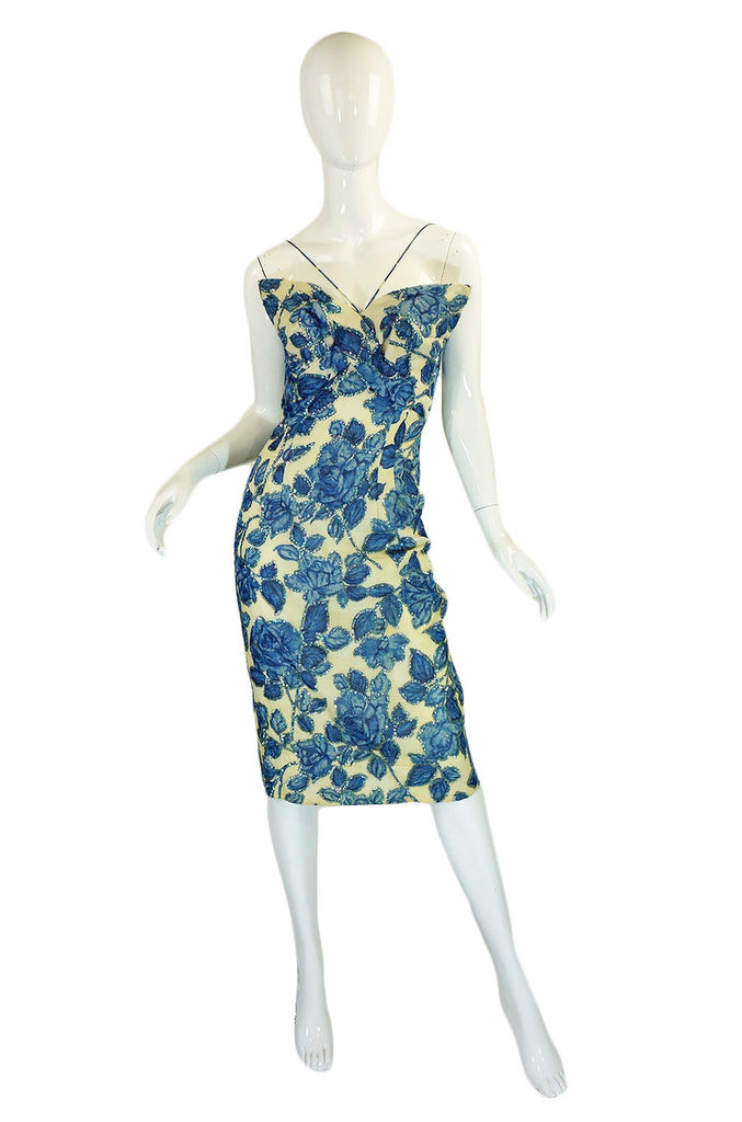 1950s Sequin Pat Sandler Vixen Dress
