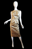 1950s Silk Brocade Helena Barbieri Set