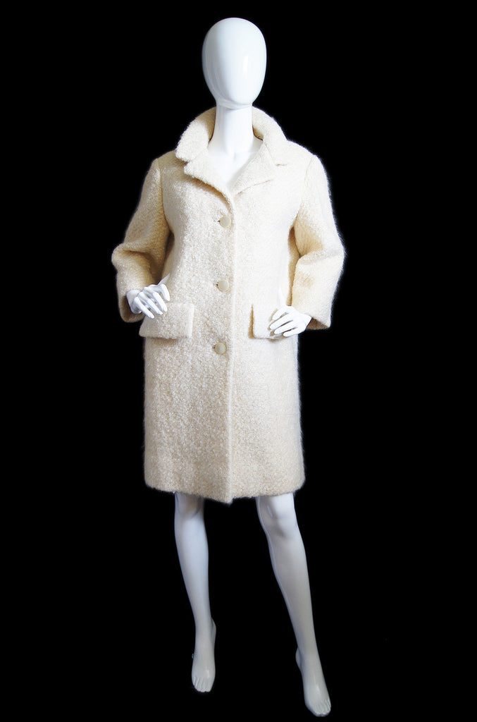 1950s Balenciaga Numbered Couture Coat