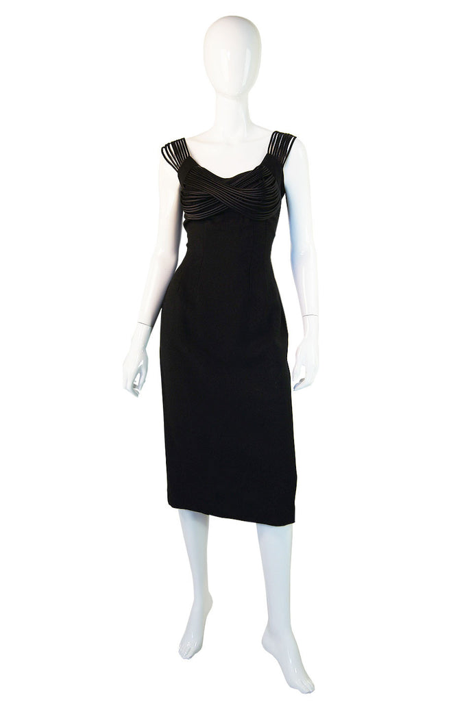 1960s Maggie Stover Bombshell Dress