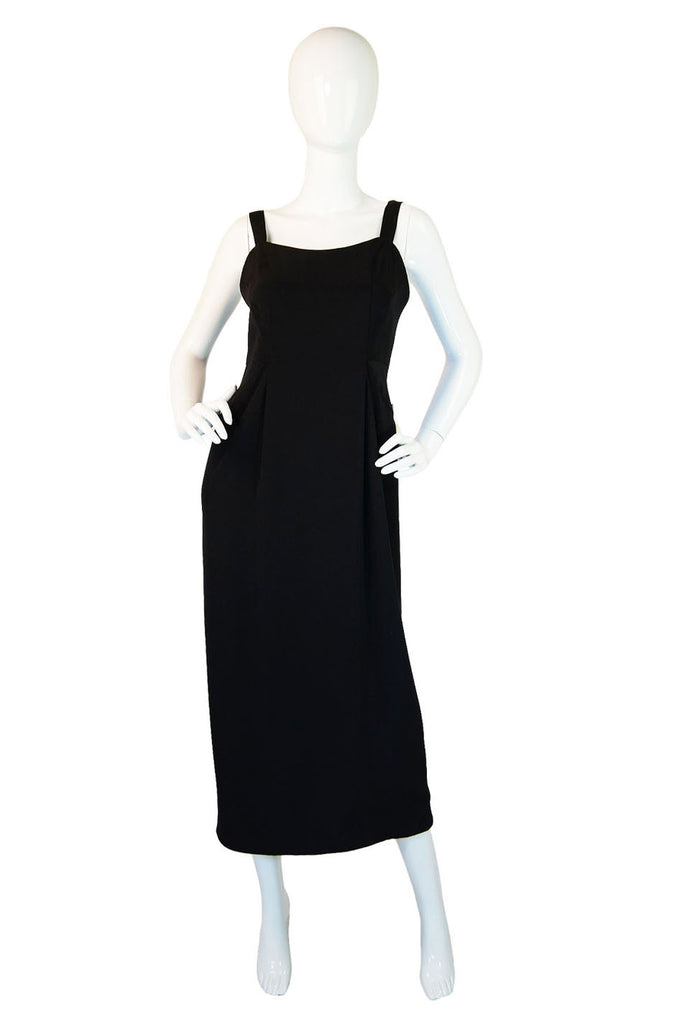 1990s Sleek Midi Length Geoffrey Beene