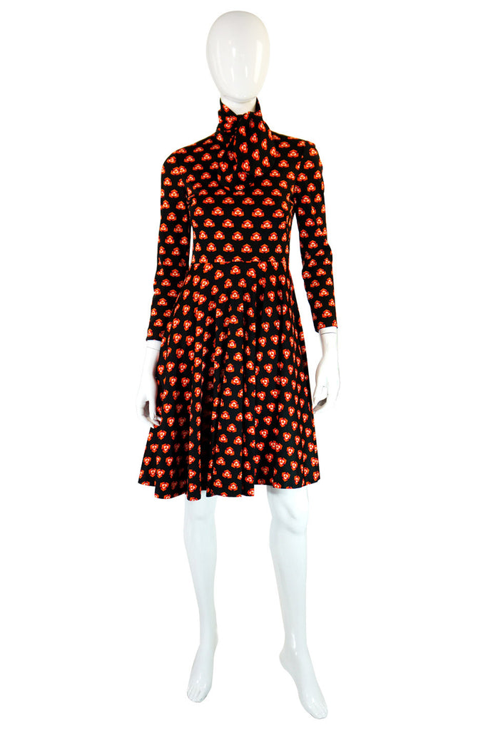 1960s Geoffrey Beene Boutique Dress