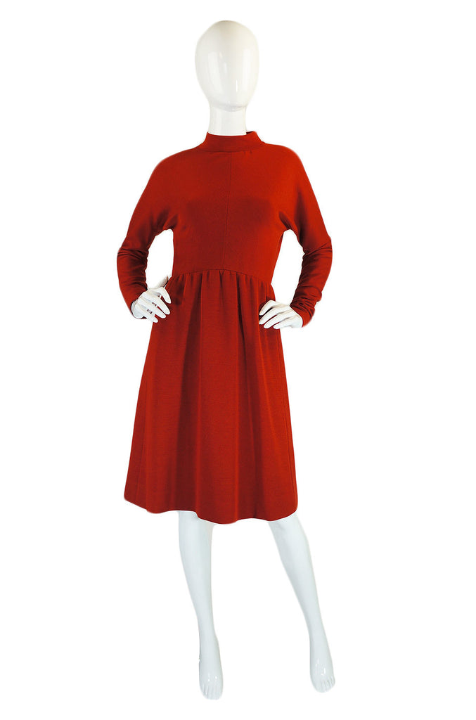 1960s Numbered Couture Givenchy Dress