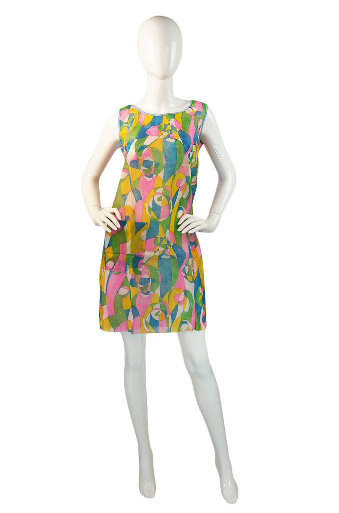 1960s Paper Dress Org. Packet