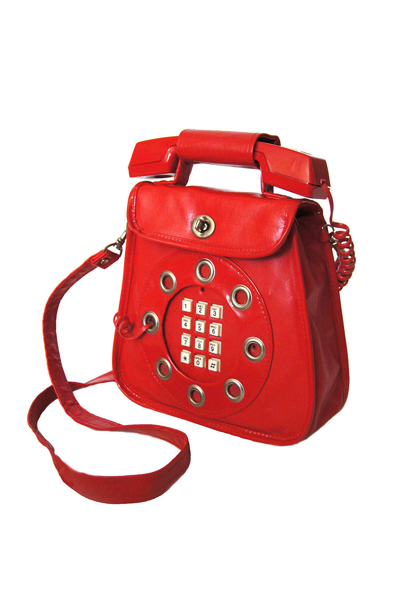 Lady Gaga Rare 1970s Telephone Bag