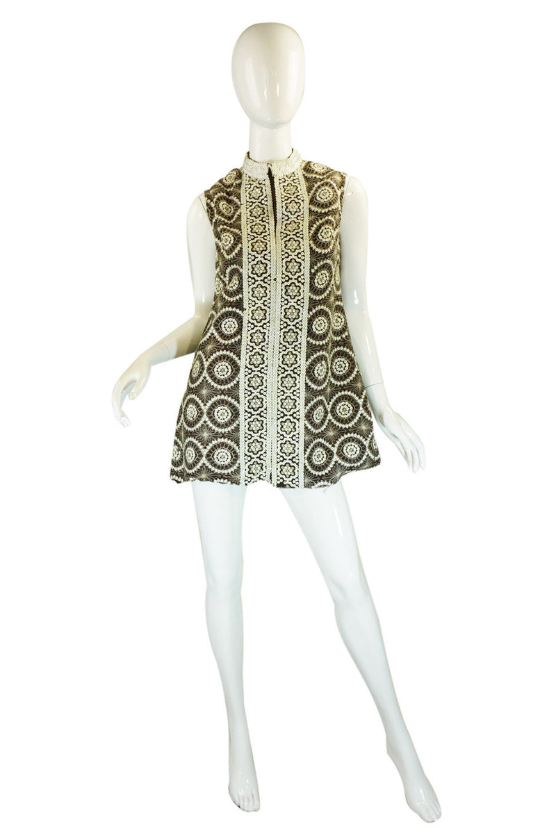1960s Sequin Dior Mini Dress or Tunic