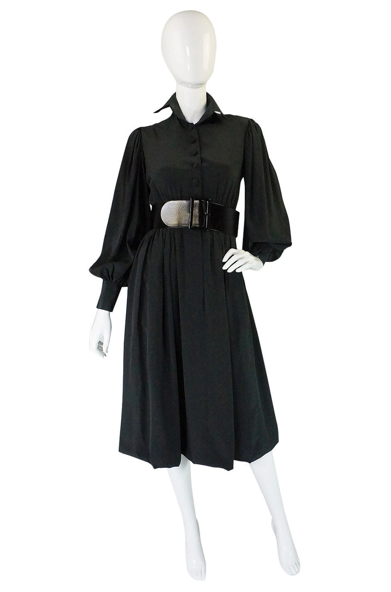 1960s Couture Silk Norman Norell Dress