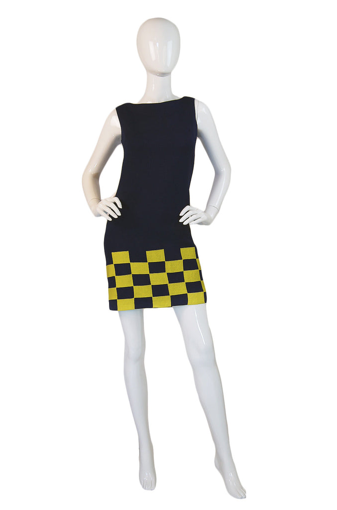 1960s Youth Guild Go Go Mini Dress
