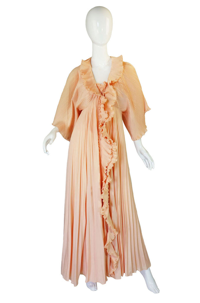 1970s Dramatic Pleat Zandra Rhodes Set