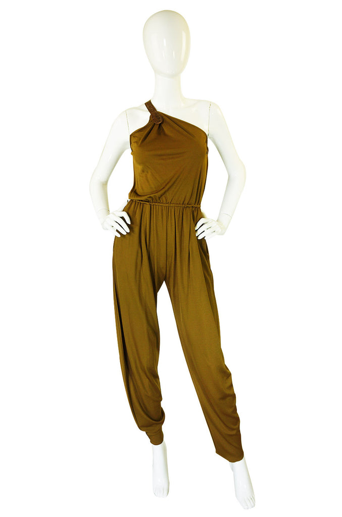 1970s Genny by Gianni Versace Jumpsuit