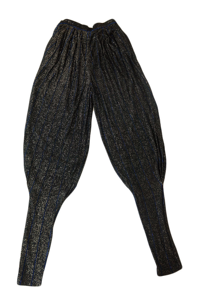 1970s Gianni Versace Couture Pants