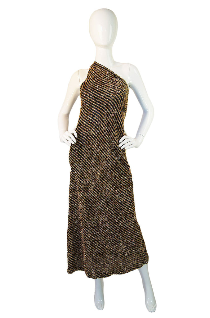 1970s Rare Fringe Stephen Burrows Maxi