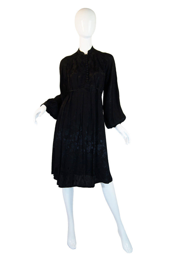 1970s Ossie Clark Design Radley Dress