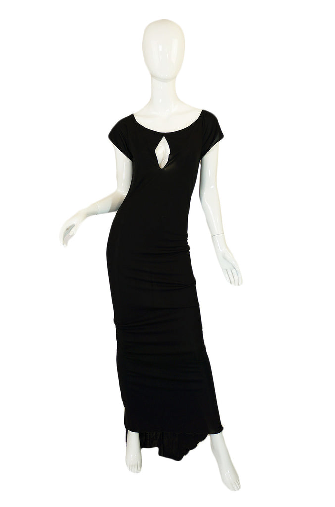 1970s Stephen Burrows Key Hole Dress