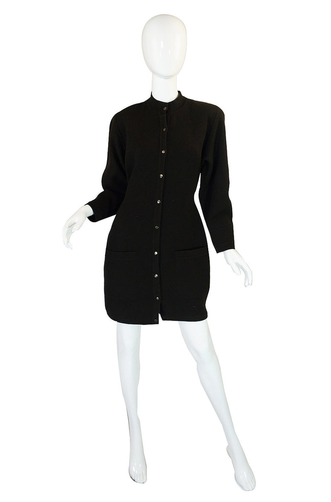 1980s Azzedine Alaia Knit Dress or Coat