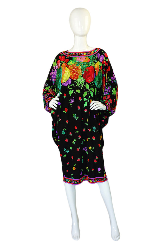 1980s Leonard Over Sized Fruit Dress