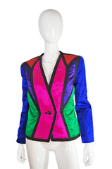 1980s Victor Costa Multi Color Jacket