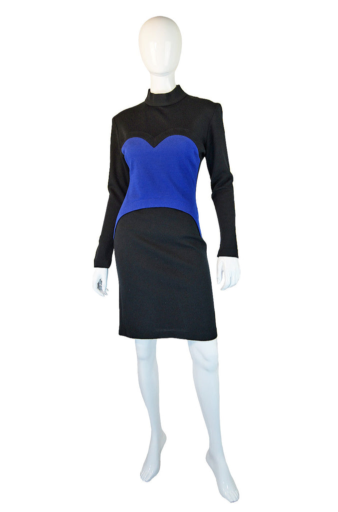 F/W 1988 Iconic Blue Heart Patrick Kelly