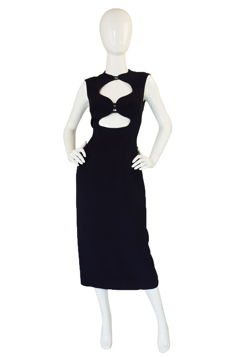 1990s Sophie Sitbon Cut Out Dress