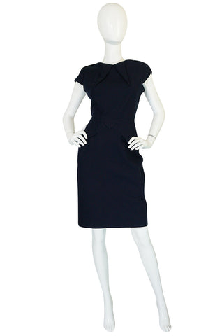 "F/W 2007 RM by Roland Mouret Navy ""Moon"" Dress"