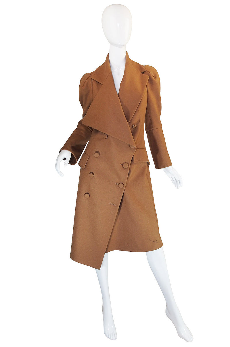 1990s Vivienne Westwood Red Label Camel Coat