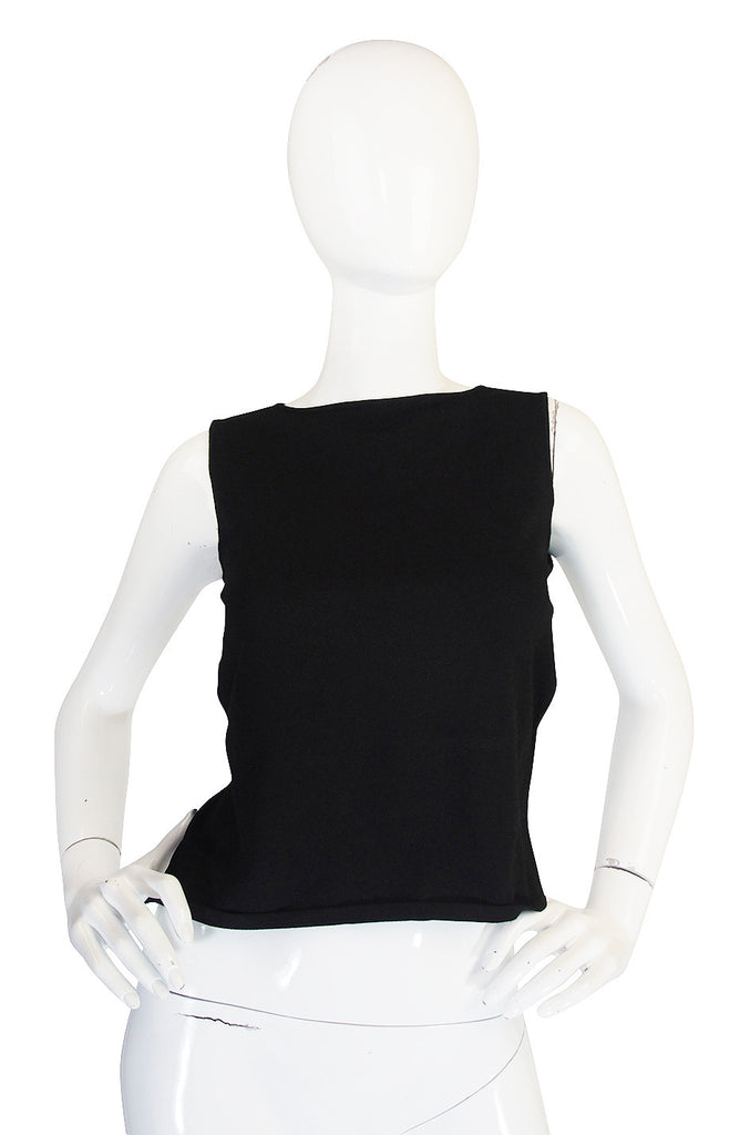 circa 1996 Tom Ford for Gucci Backless Knit Top