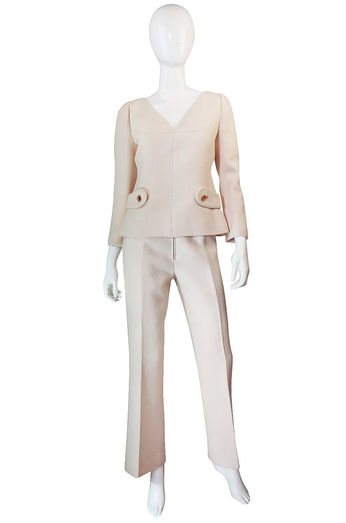 c1967 Numbered Couture Andre Courreges Suit