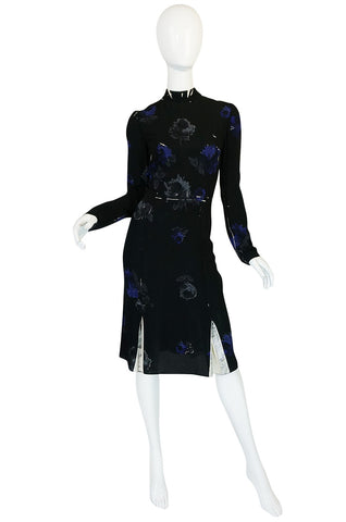 F/W 2005 Look #43 Runway Floral Silk Prada Dress